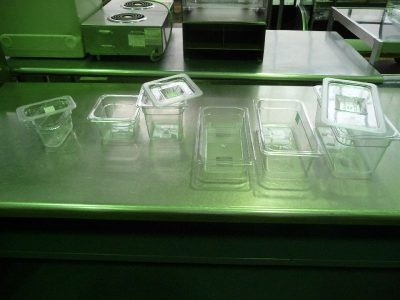 1850 Lexan food storage containers