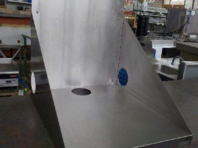 3062 SS microwave shelf