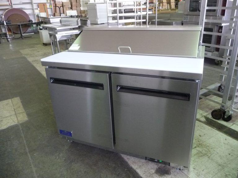 5217 refrigerated sandwich prep table