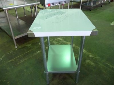 "9109 stainless steel work table 30"" x 24"""