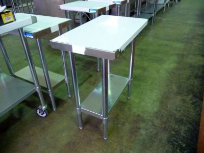9124 new stainless steel work table