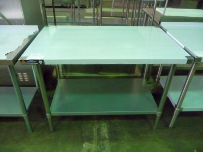 9141 new stainless steel work table