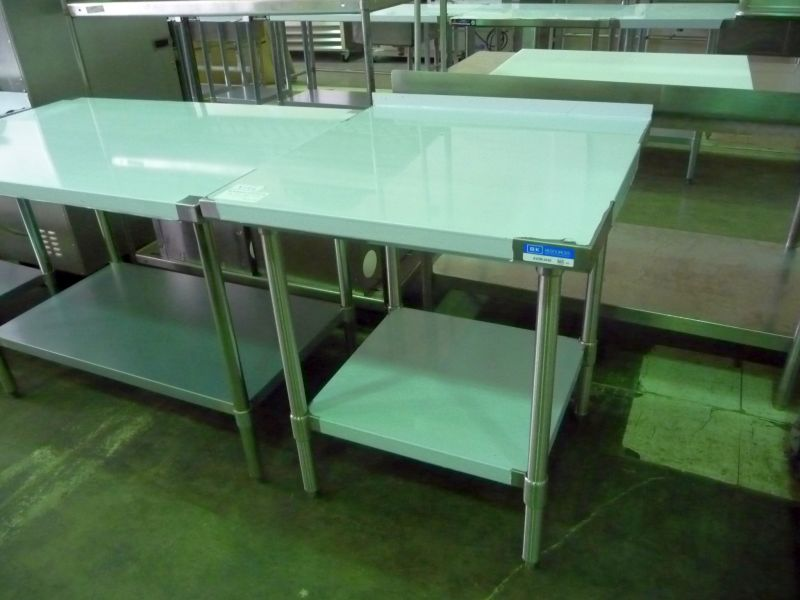 9146 new stainless steel work table