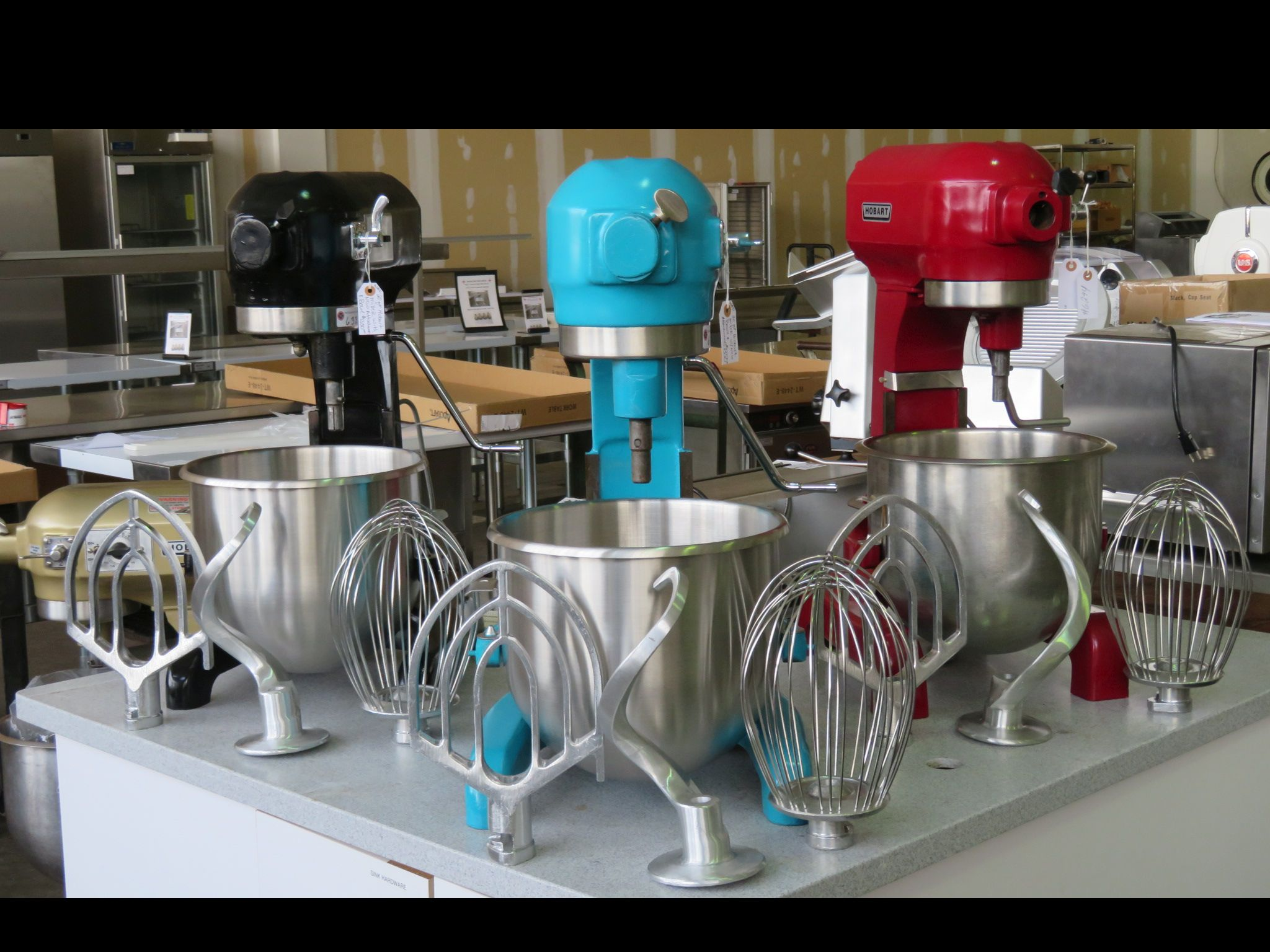 Mixers, Slicers and Food Processors