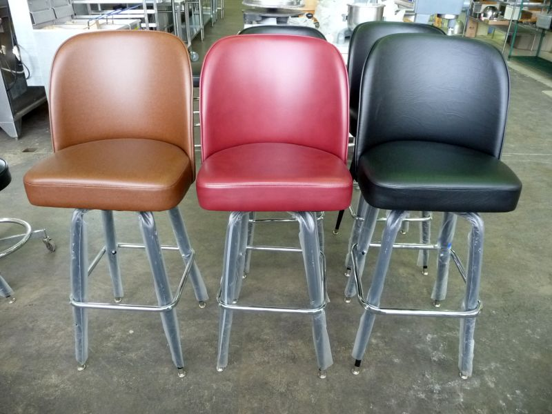 Bar Stool Bucket Style Swivel Seat Standard Size The