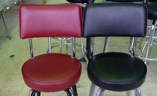 New Open Back Bar Stool Seat Only