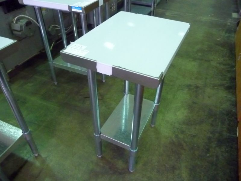 New Stainless Steel Table X The Equipment Connection - Stainless steel table 18 x 24