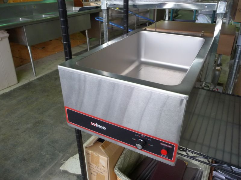 Steam Tables, Toasters and Warmers