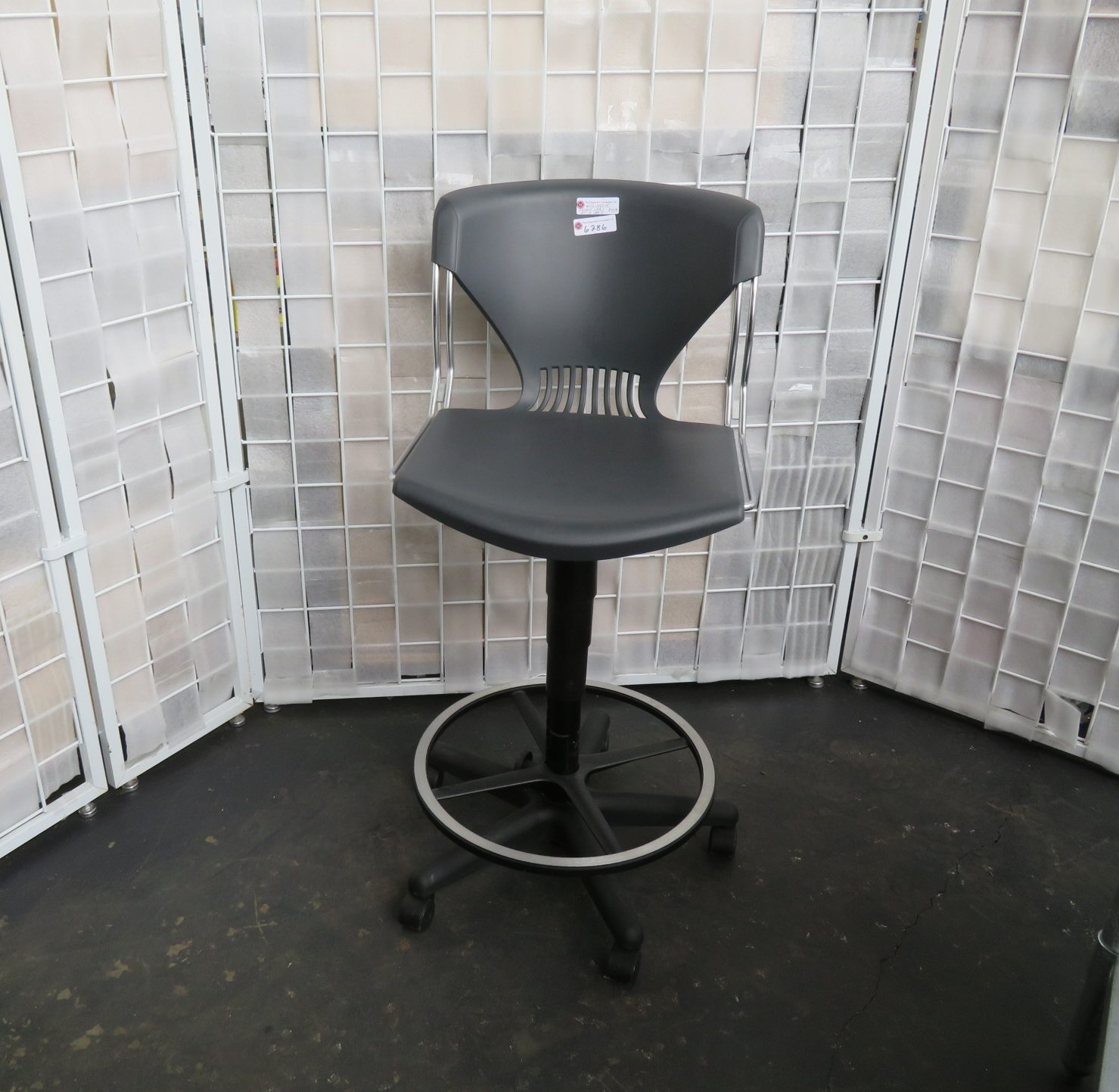 Adjustable Height Lab Or Office Chair Used Tec Akron